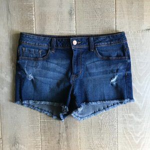 Forever 21 Distressed Cut-Off Denim Shorts Size 30
